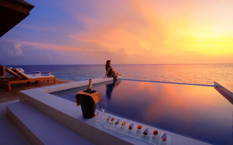Water villa Lily Bach Resort, Maldives