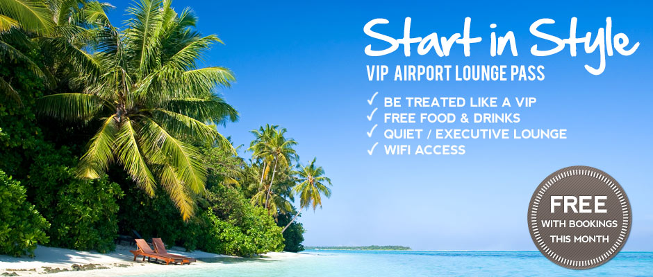 Free VIP Airport Lounge Pass
