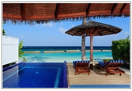 deluxe-pool-villa at Centara Grand Island Resort Maldives