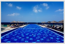 Main-Pool at Centara Grand Island Resort Maldives