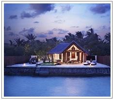 Lagoon Villa Taj Exotica Resort Maldives