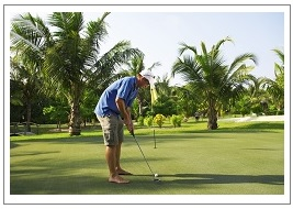 Kuredu Island Resort - Golf