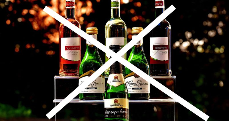 Bringing alcohol in the Maldives is strictly forbidden