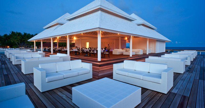 Diamonds Resorts Maldives - Thudhufushi over water restaurant