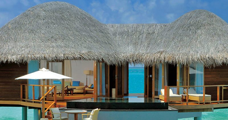 Constance Resorts Maldives - Haliveli water villa