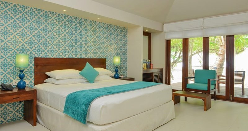 Hudhuranfushi beach villa interior
