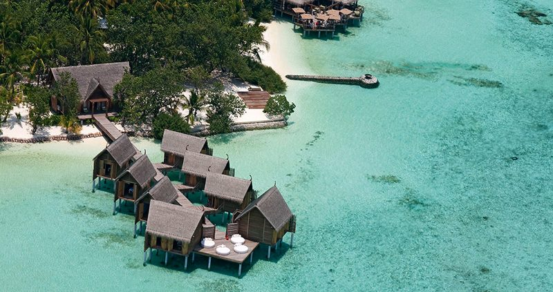 Constance Resorts Maldives Aerial view