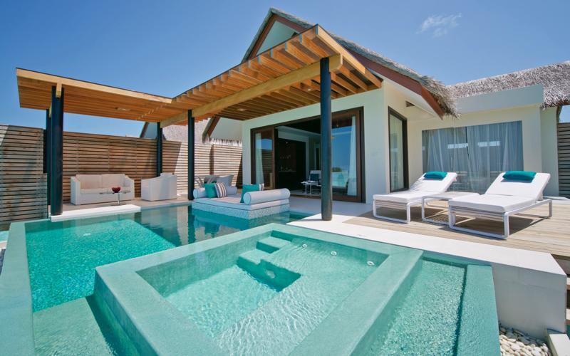 Water villa at Niyama Private Islands