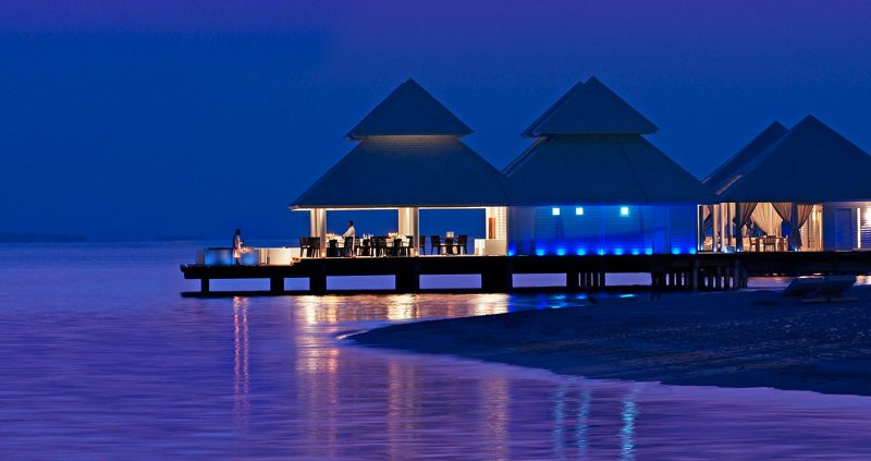 Diamonds Resorts Maldives - Athruga over water restaurant