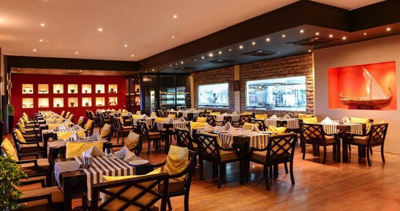 Prestige villas restaurant