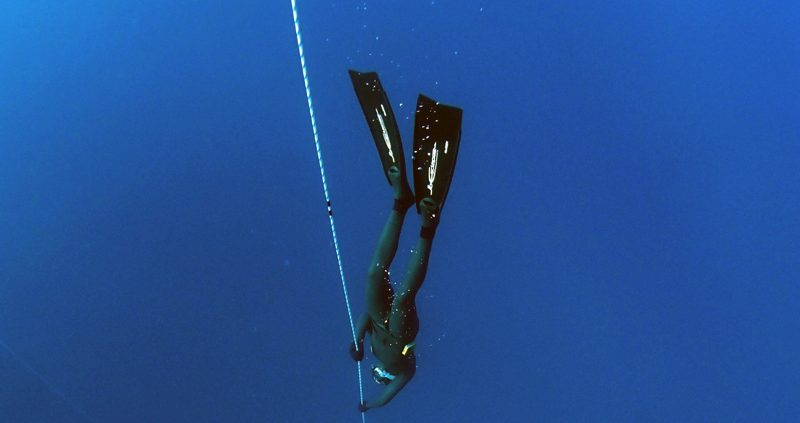 Freediving in the Maldives