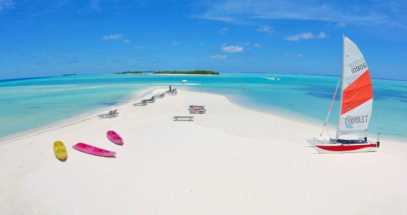 Fun Island Resort Maldives watersports beach