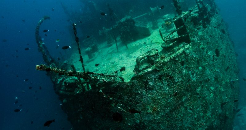 Wreck Diving in the Maldives - The Victory