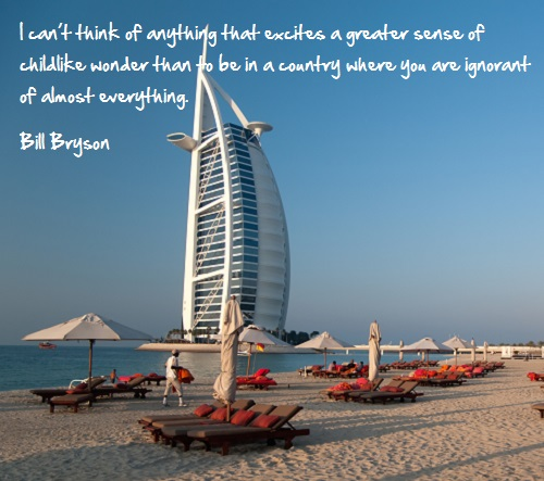 Inspirational travel quote -Childlike wonder