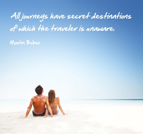 Inspirational Travel quote- Journey