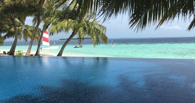 Vilamendhoo Island Resort adults only pool