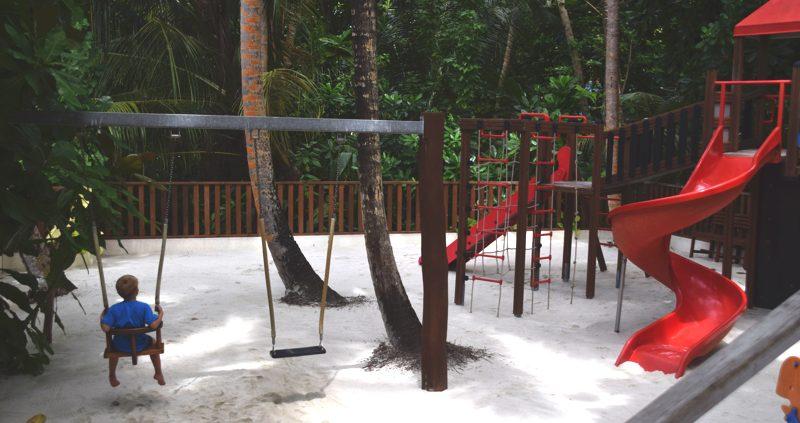 Vilamendhoo Island Resort children's play park