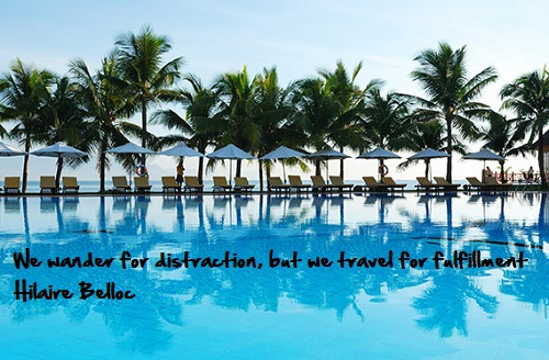 Inspirational travel quote - Wander