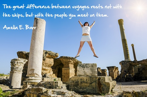 Inspirational travel quote - Difference