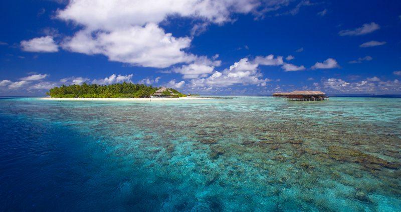Fiitheyo Island Resort reef overview