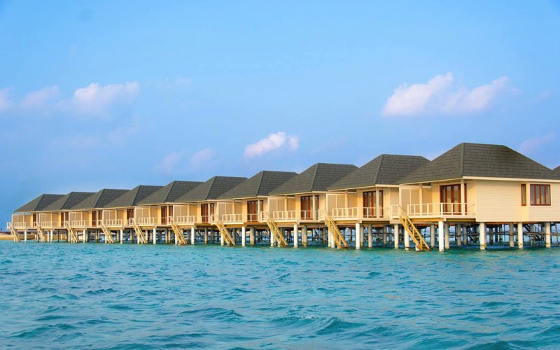 Summer Island Refurbishment - new water villas