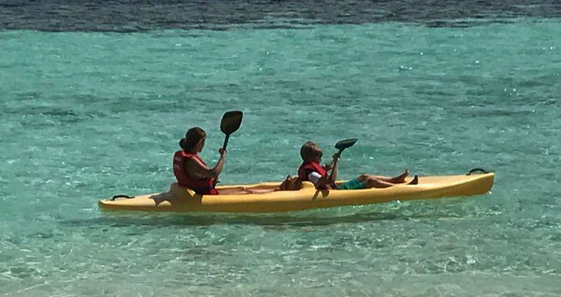 Kayaking at Eriyadu Island Resort Maldives