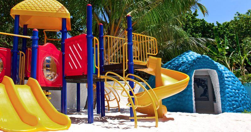 Kids play area at Sheraton Maldives Full Moon Maldives