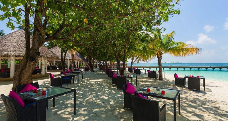 Well Done beach Restaurant at Vilu Reef Maldives