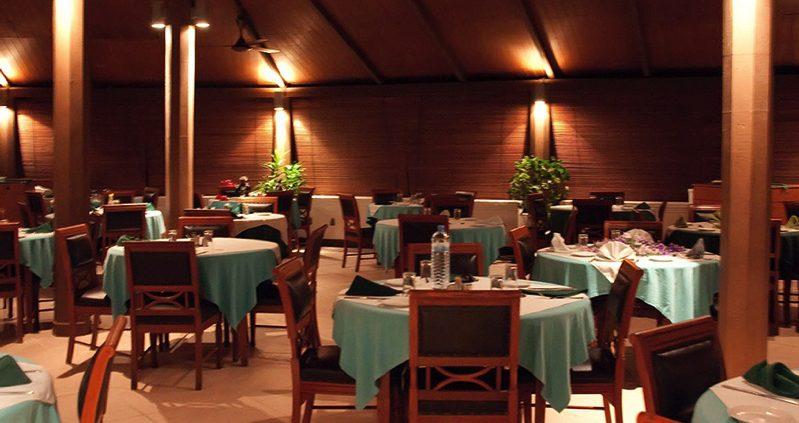 restaurant at Embudu Island Resort Maldives