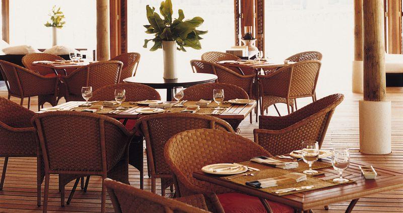 Restaurant at Cocoa Island Resort Maldives