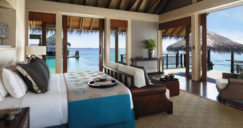 Water villa at Shangri-Las Villingili Maldives