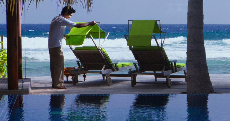 ocean view at Naladhu Island Resort Maldives