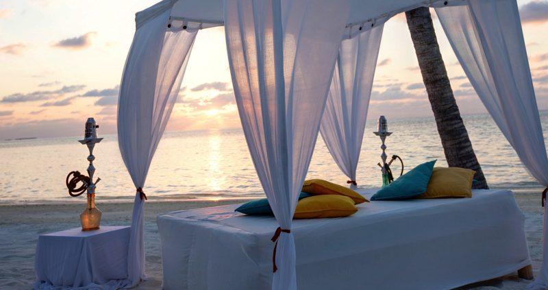 LUX Maldives beach