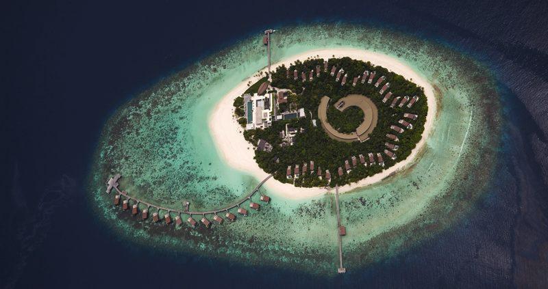 Park Hyatt Maldives - Aerial View