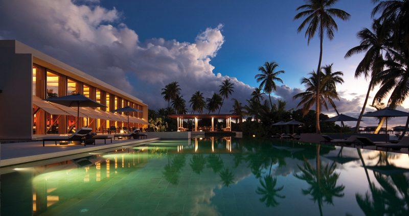 Pool at Park Hyatt Maldives