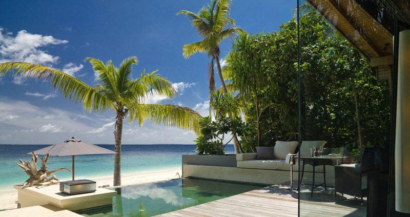 Beach vila with pool at Park Hyatt
