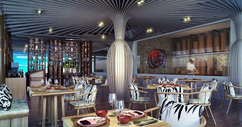 OZEN Resort Maldives restaurant