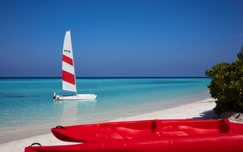 Water sports at Amari Havodda Maldives