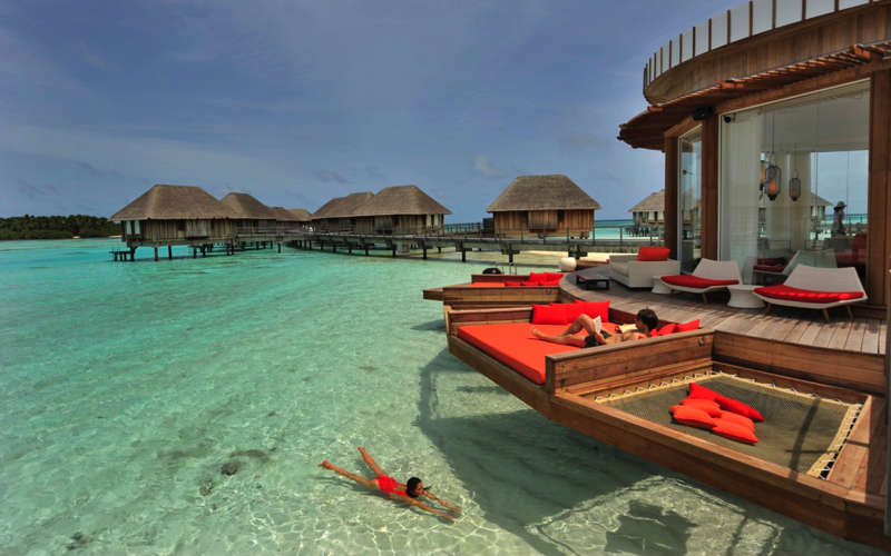 Bar at Club Med Kani Maldives