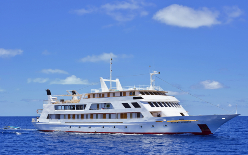 Choosing to Cruise and Stay in the Maldives - Yasawa Princess