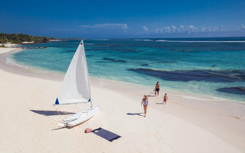 Sailing at Club Med Finolhu Villas Maldives