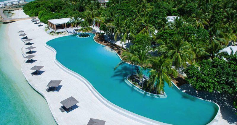 Amilla Fushi Maldives pool