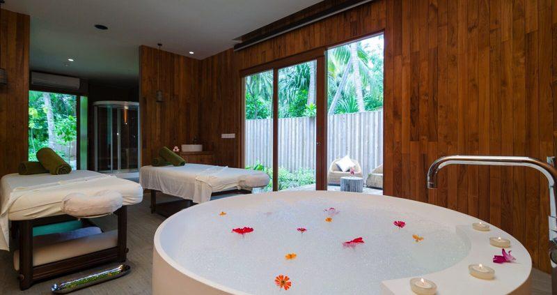 Amilla Fushi Maldives - spa treatment room