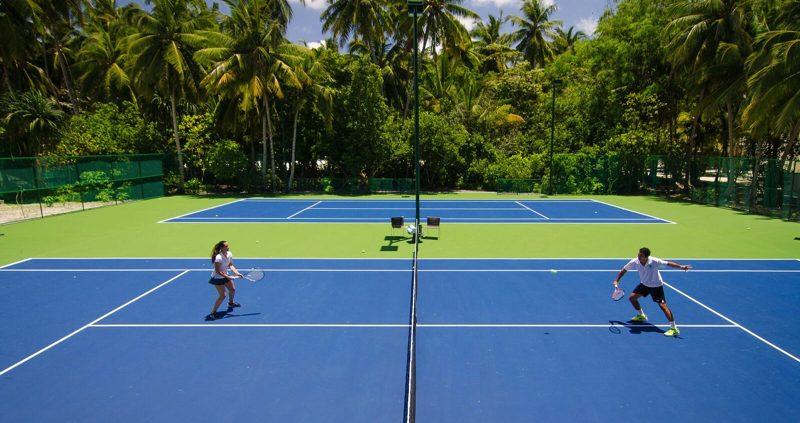 Tennis at Amilla Fushi Maldives