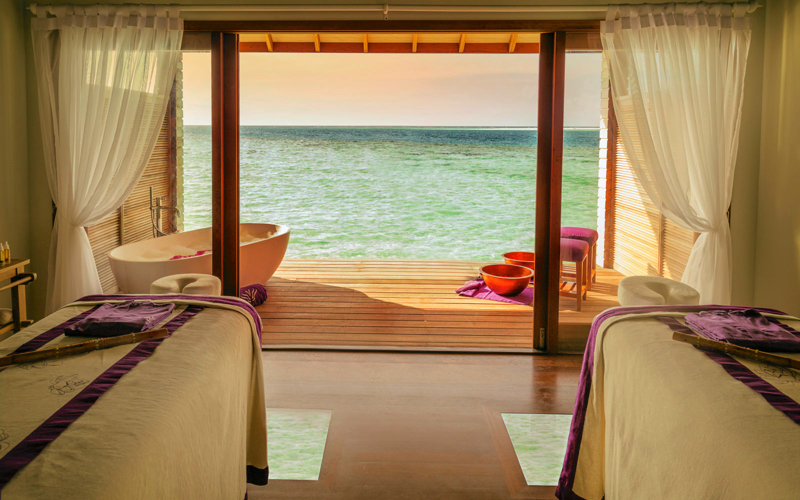 Duniye Spa at Hurawalhi Island Resort Maldives