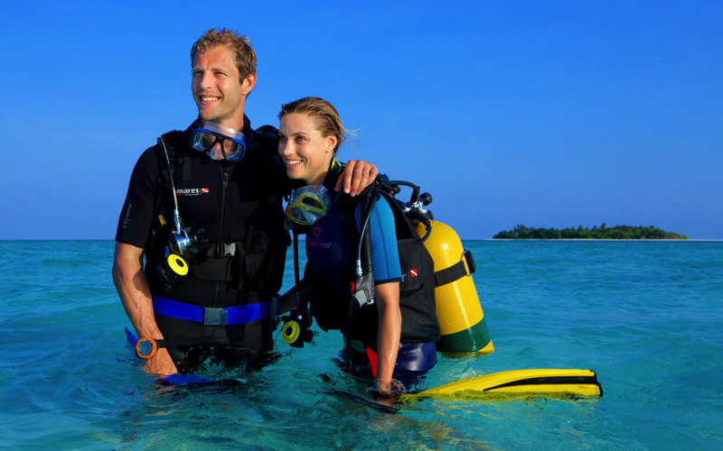 scuba diving, Maldives