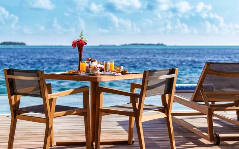 sea view at Hurawalhi Island Resort Maldives