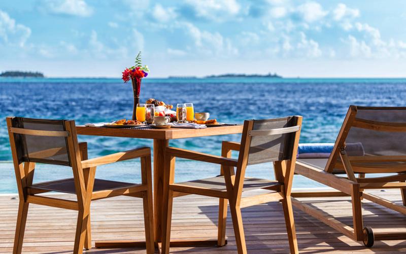 5.8 underwater restaurant, Maldives
