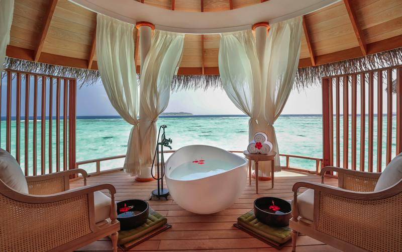 Spa at Milaidhoo Island Resort Maldives