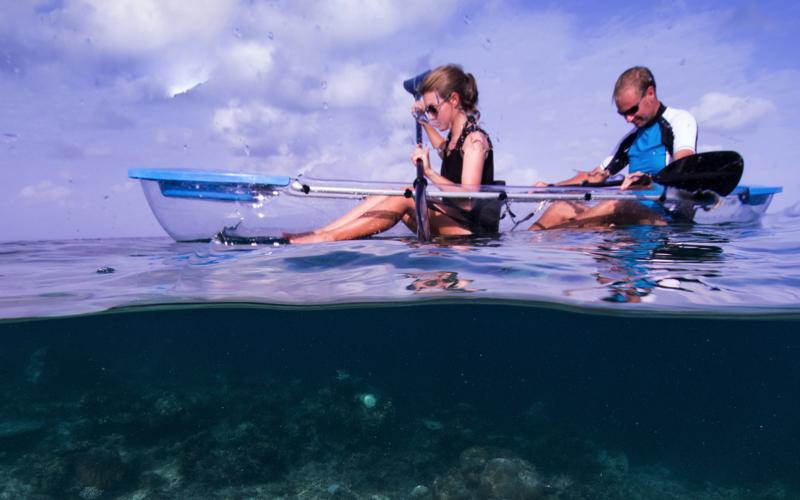 Kayaking at Milaidhoo Island Resort Maldives